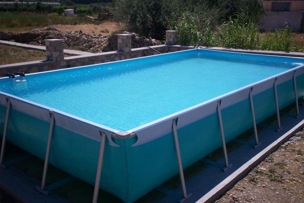 Piscinas desmontables de alta resistencia iaso piscinas area for Piscinas alargadas desmontables