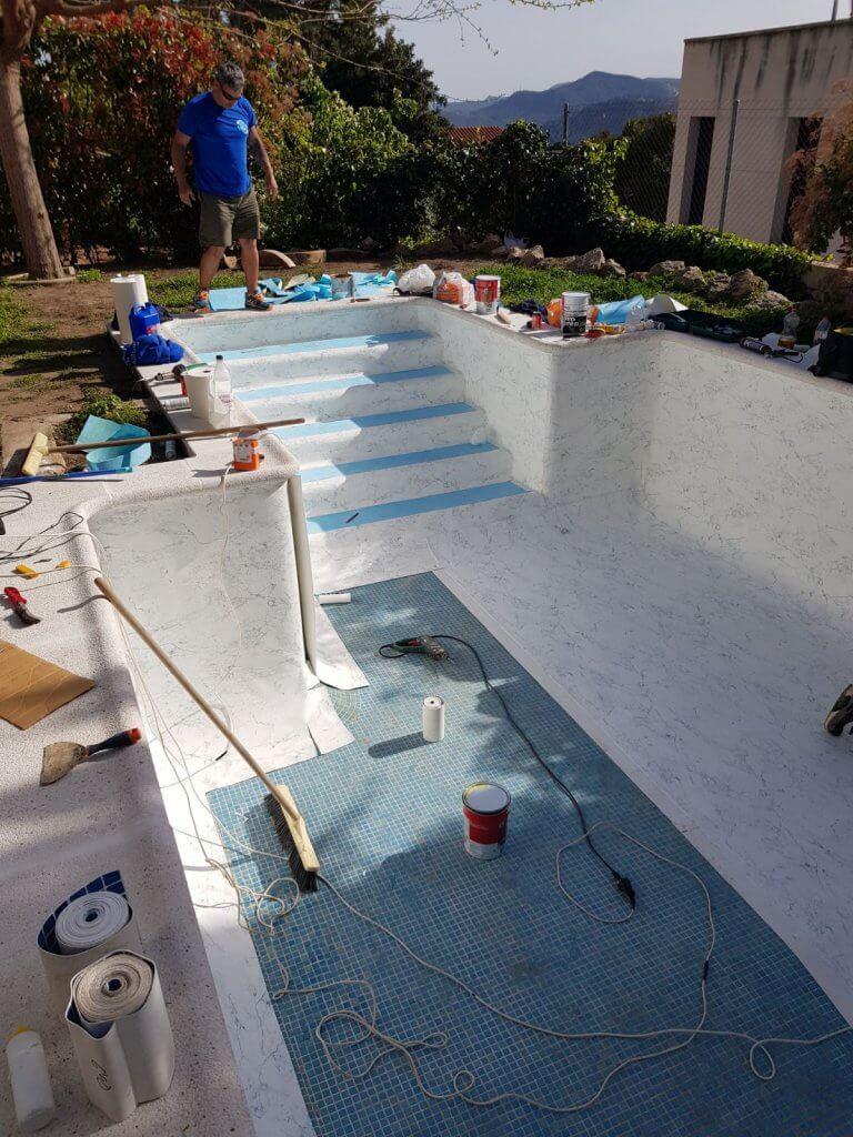 Rehabilitacion piscina con lámina armada 5